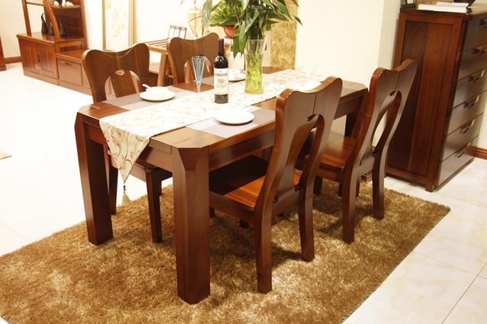 柚木餐桌2